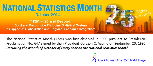 25th National Statistics Month