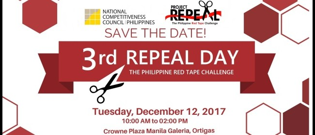3rd Repeal Day - 12 December 2017