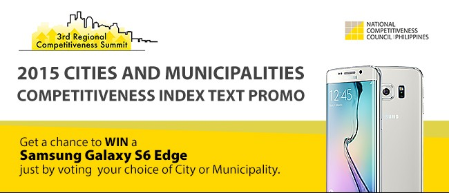 2015 Cities and Municipalities Competitiveness Index Text Promo