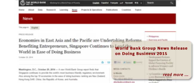 Economies in East Asia and the Pacific are Undertaking Reforms Benefiting Entrepreneurs