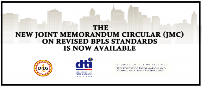 The new Joint Memorandum Circular on Revised BPLS Standards