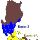 Map of Region 3 - 4A
