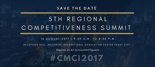 5th Regional Competitiveness Summit