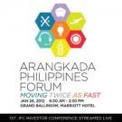 Arangkada Philippines Forum: Moving Twice as Fast